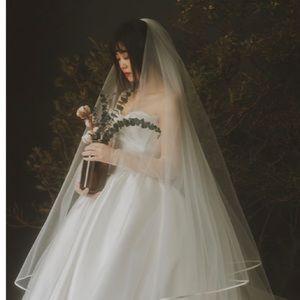 Handmade high quality veil
